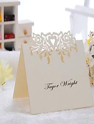 preiswerte -Kartonpapier Tischkarten PVC Tasche 12