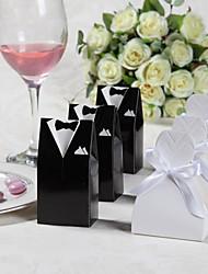 12 Pièce / Set Titulaire de Faveur-Créatif Papier durci Boîtes à cadeaux Non personnalisé