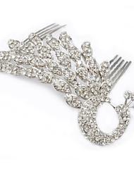 billige -Krystal / Stof / Legering Tiaras / Hair Combs med 1 Bryllup / Speciel Lejlighed / Fest / aften Medaljon