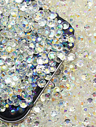 200pcs 3D Nail Diamond Jewelry Shiny Nail Art DIY Decorations