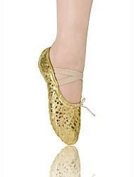 cheap -Women's Kids' Ballet Leatherette Flat Flat Heel Gold Non Customizable
