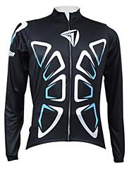 Kooplus Camisa para Ciclismo Homens Manga Longa Moto Camisa/Roupas Para Esporte Blusas Térmico/Quente Secagem Rápida Zíper Frontal