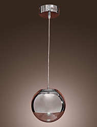 Pendant Light ,  Modern/Contemporary Globe Chrome Feature for Mini Style Metal Dining Room Kitchen