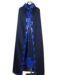 Inspireret af Tsubasa Toya Anime Cosplay Kostumer Cosplay Kostumer Patchwork Langærmet Frakke Kappe dæksel Til Mand
