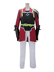 cheap -Inspired by Sword Art Online Klein Anime Cosplay Costumes Cosplay Suits Patchwork Long Sleeve Coat / Pants / Gloves For Men's
