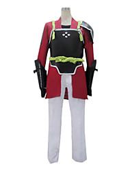 preiswerte -Inspiriert von Sword Art Online Klein Anime Cosplay Kostüme Cosplay Kostüme Patchwork Langarm Mantel / Hosen / Handschuhe Für Herrn Halloween Kostüme