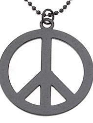 Недорогие -Символ мира ожерелье