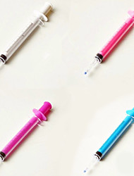 Недорогие -Ручка Ручка Гелевые ручки Ручка, пластик Черный Цвета чернил For Школьные принадлежности Офисные принадлежности В упаковке