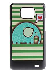 Flash Design Carino modello Custodia rigida per Elephant I9100 Samsung Galaxy S2