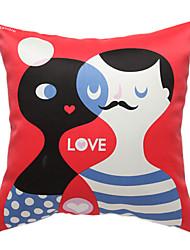 kærlighedshistorie print dekorative pudebetræk