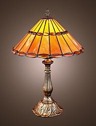 levne -tiffany-style klenot bronz povrch stolní lampa (0923-tf10)