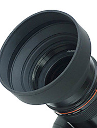 62mm Rubber Lens Hood for Wide angle, Standard, Telephoto Lens