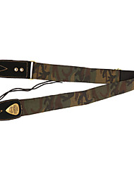 Недорогие -Солдат - (камуфляж) Полиэстер / хлопок и ткань Guitar / Bass ремень