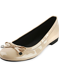cheap -Stylish Leatherette Flat Heel Loafers & Slip-Ons With Bowknot Party / Evening Shoes (More Colors)
