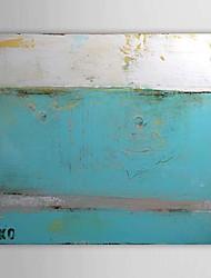 Ručno oslikana Sažetak Horizontalan Platno Hang oslikana uljanim bojama Početna Dekoracija Jedna ploha