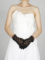 Lace Wrist Length Glove Party/ Evening Gloves Classical Feminine Style