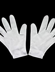 Gloves Inspirirana D.Gray-man Allen Walker Anime Cosplay Pribor Gloves Bijela Spandex Male