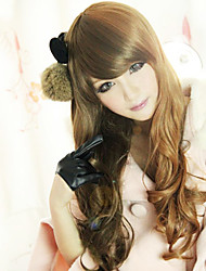 Недорогие -Лолита парик вдохновленный красотой сладкого qreen молнии смешать коричневый 60см случайные