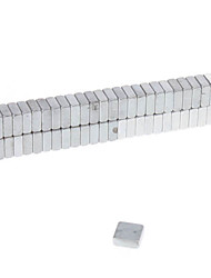 Magnetspielsachen 50 Stücke 5*5*2 MM Magnetspielsachen Bausteine Super Strong Seltenerd-Magneten Executive-Spielzeug Puzzle-Würfel Für