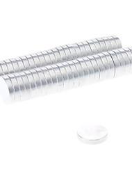 Magnetspielsachen 50 Stücke 10*2 MM Magnetspielsachen Bausteine Super Strong Seltenerd-Magneten Executive-Spielzeug Puzzle-Würfel Für