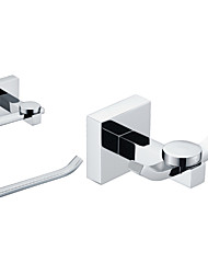 Set di accessori per il bagno / Cromo Contemporaneo
