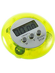 cheap -Round Magnetic LCD Digital Kitchen Timer Countdown Alarm with Stand