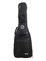 Недорогие -Солдат - (3018A) 4 Толстая Pockets Мягкая сумка электрические гитары с невидимыми ремень