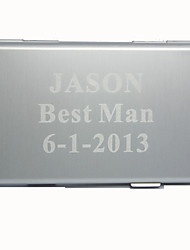cheap -Groom Groomsman Zinc Alloy Business Card Holders Wedding Anniversary Birthday Business