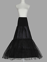 cheap -Wedding Special Occasion Slips Organza Taffeta Tulle Floor-length A-Line Slip with