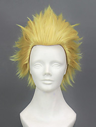 Cosplay Wigs Fate/Zero Archer Golden Short Anime Cosplay Wigs 30 CM Heat Resistant Fiber Male