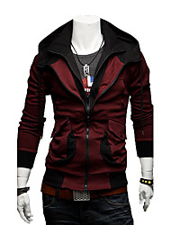 povoljno -Muškarci Jednobojni Dnevno hoodie jakna Dugih rukava