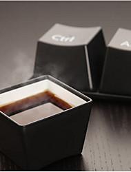 Недорогие -Чашки в форме кнопок клавиатуры, комплект из трех единиц