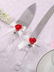 Stainless Steel Garden Theme Gift Box Serving Sets Wedding Reception