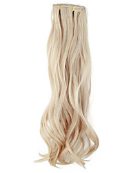 preiswerte -High Quality Synthetic 45 cm Clip-In Silky Wavy Hair Extension 6 Farben zur Auswahl