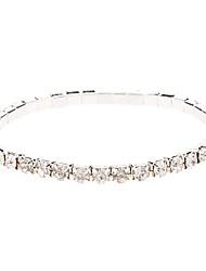 Hochzeit-Ketten- & Glieder-Armbänder(Aleación / Strass)