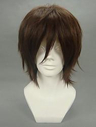 cheap -Cosplay Wigs Code Gease Kururugi Suzaku Anime Cosplay Wigs 32 CM Heat Resistant Fiber Men's