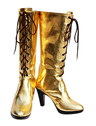 Cosplay Boots Vocaloid Megurine Luka Anime Cosplay Shoes PU koža Žene