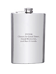 cheap -Stainless Steel Hip Flasks Groom Groomsman Wedding Anniversary Birthday