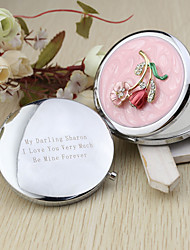 cheap -Wedding Anniversary Engagement Party Bridal Shower Birthday Party Bachelor's Party Chrome Compacts Floral Theme