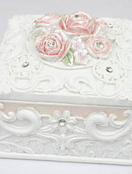 cheap -Beautiful Garden Style Square-shaped Jewelry Box Elegant Style