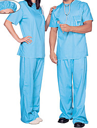 abordables -Docteur Costume de Cosplay Costume de Soirée Homme Femme Halloween Carnaval Nouvel an Fête / Célébration Déguisement d'Halloween Bleu