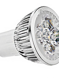cheap -GU10 LED Spotlight 4 High Power LED 330 lm Warm White Cold White K AC 85-265 V 1pc