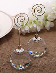 cheap -Crystal Iron Place Card Holders Standing Style PVC Bag 1