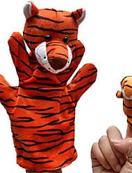 economico -2PCS genitore-figlio manuali Finger Puppets Tigers
