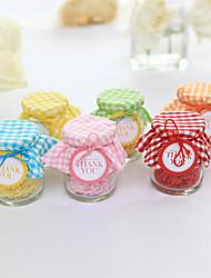 Недорогие -Держатель для держателей стеклянных баллонов с конфетными баночками и бутылками - 12 свадебных аксессуаров
