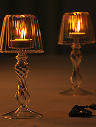 Wedding Décor Beautiful Lamp Shaped Candle Holder