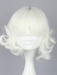 Lolita perika Gothic Lolita Lolita Lolita Perika 30 CM Cosplay Wigs Jednobojni Wig Za