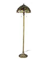 Недорогие -60W особым художественным Свет-мозаичного пола Большого Стрекозы красными глазами и красочные шарики