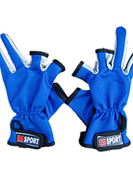 Professional Multiple Colors Fishing Gloves for Fishing(Size Average, Color Ramdon)
