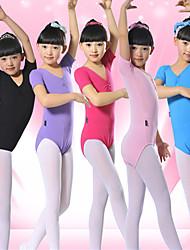 billige -Balletsko Trikoter Træning Lycra Kort Ærme